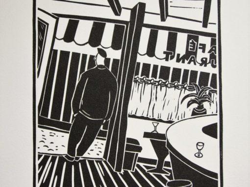 Olivier Lapicque – Linogravure